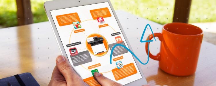 Como se conectan las aplicaciones de Kyocera
