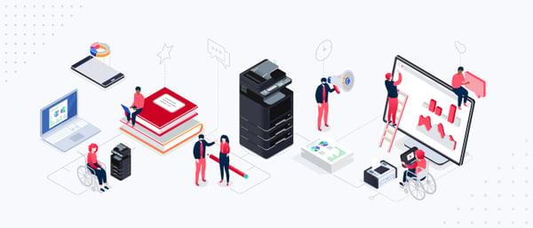 Impresoras y multifuncionales Kyocera herramientas inclusivas