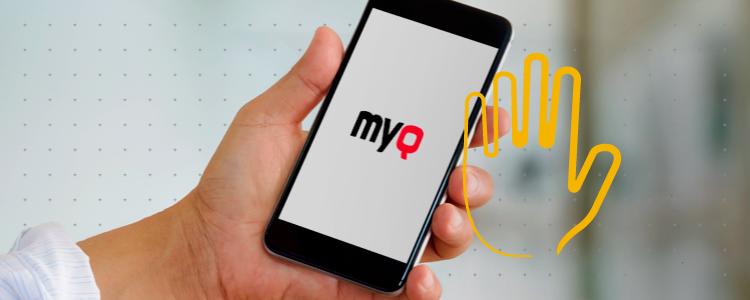 Ya conoces nuestra nueva solución MyQ una appa para tu negocio